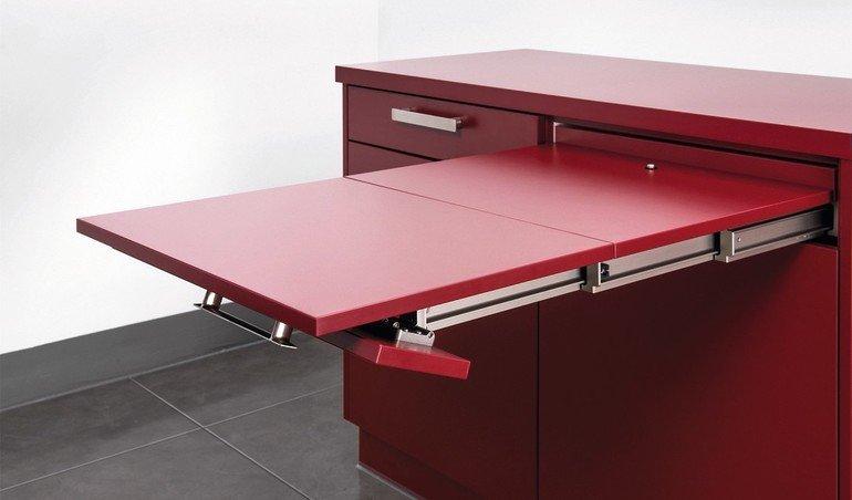 poettker liefert auszug f r integrierten tisch der essplatz aus dem schubkasten bm online. Black Bedroom Furniture Sets. Home Design Ideas