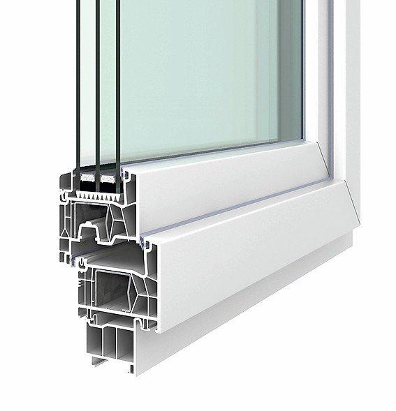 H hbauer kunststofffenster lunea ist vielseitig einsetzbar for Kunststofffenster test
