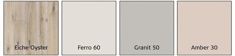 farbempfehlungen f r boden wand und interieur parkett trifft wandfarbe bm online. Black Bedroom Furniture Sets. Home Design Ideas