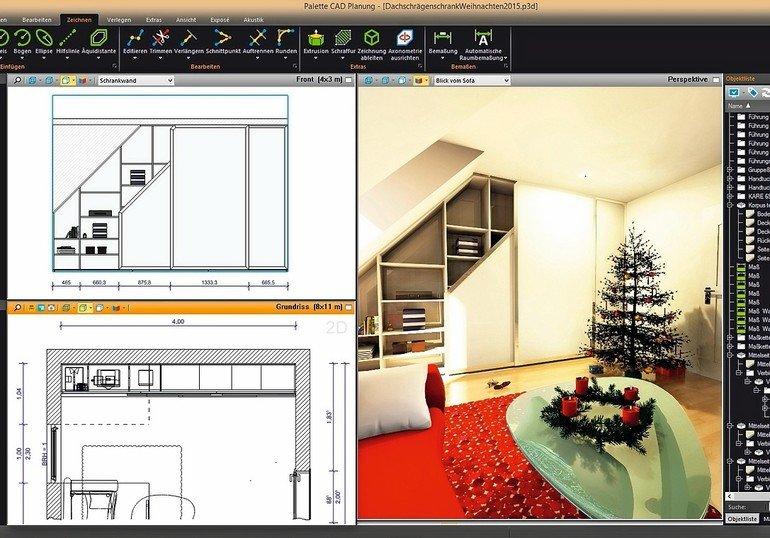 palette bindet 2d planung nahtlos ins neue cad ein fliegend zwischen welten wechseln bm online. Black Bedroom Furniture Sets. Home Design Ideas