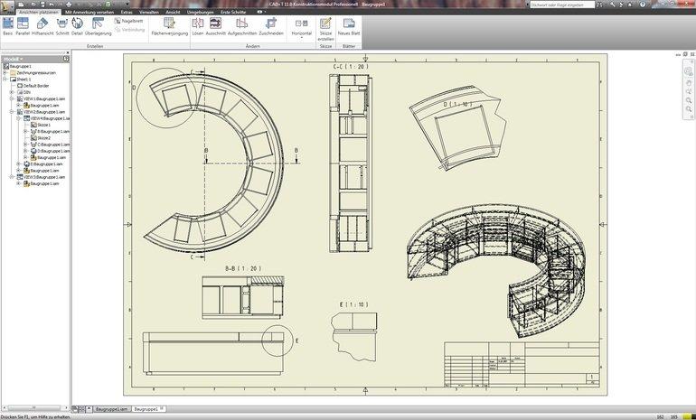 Cad t interieur design produktions software bm online for Interieur software