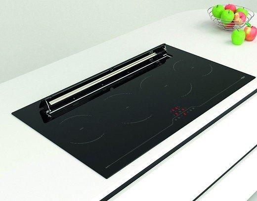 vogt bietet induktionskochfeld mit integrierter abzugshaube kochfeld und absaugung in einem. Black Bedroom Furniture Sets. Home Design Ideas