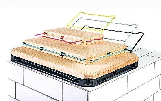 koch und industriedesigner entwickeln schneidebrett die werkbank f r die k che bm online. Black Bedroom Furniture Sets. Home Design Ideas