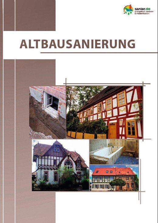 ratgeber hilft bei der umsetzung kostenfreies e book zum thema altbausanierung bm online. Black Bedroom Furniture Sets. Home Design Ideas