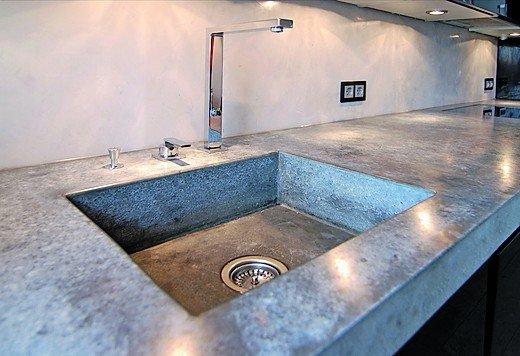 material raum form liefert m belbauteile aus beton arbeitsplatten aus einem gu bm online. Black Bedroom Furniture Sets. Home Design Ideas