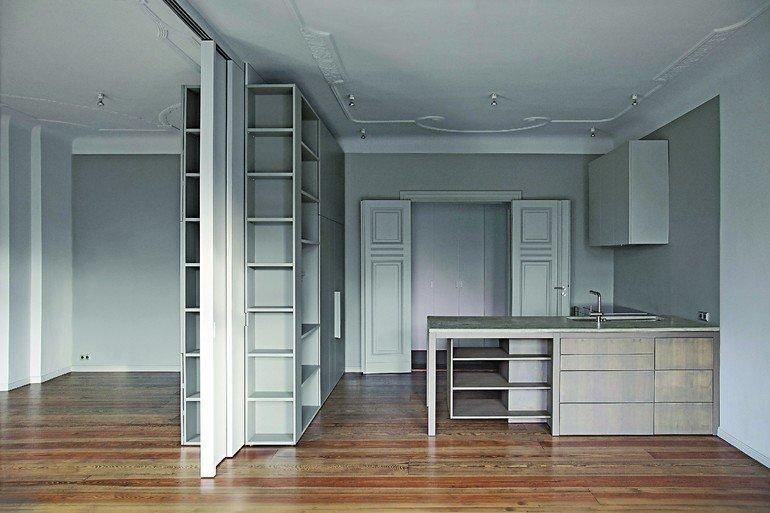 innenausbau einer altbauwohnung in berlin herrschaftlich. Black Bedroom Furniture Sets. Home Design Ideas