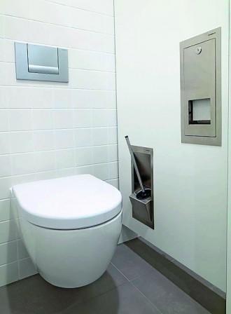 kemmlit integriert sanit rzubeh r in trennw nde zubeh r verschwindet in der wand bm online. Black Bedroom Furniture Sets. Home Design Ideas