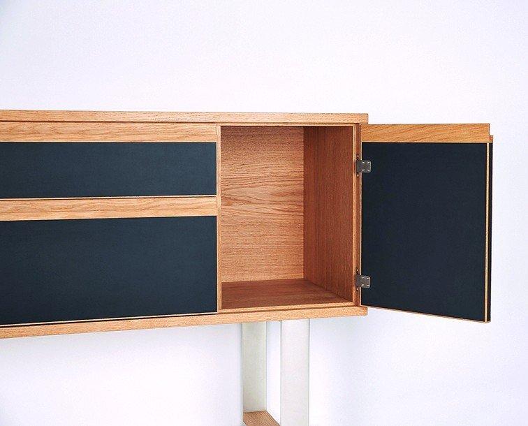 meisterst ck in eiche linoleum und stahl schreiners b ro bm online. Black Bedroom Furniture Sets. Home Design Ideas
