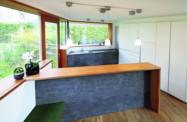fenster und innenausbau in salzburg lichtdurchflutete wohnskulptur bm online. Black Bedroom Furniture Sets. Home Design Ideas