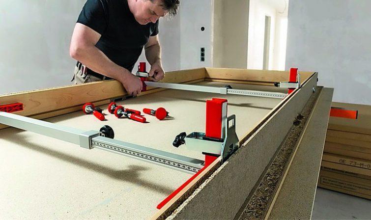 bessey optimiert t rfuttermontagesystem berbreite t ren einfach montieren bm online. Black Bedroom Furniture Sets. Home Design Ideas