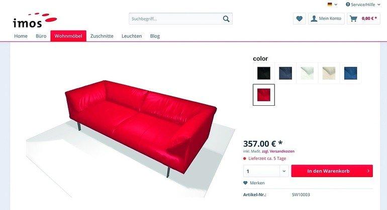 Imos AG baut Online-Anwendungen für den Möbelverkauf weiter aus ...
