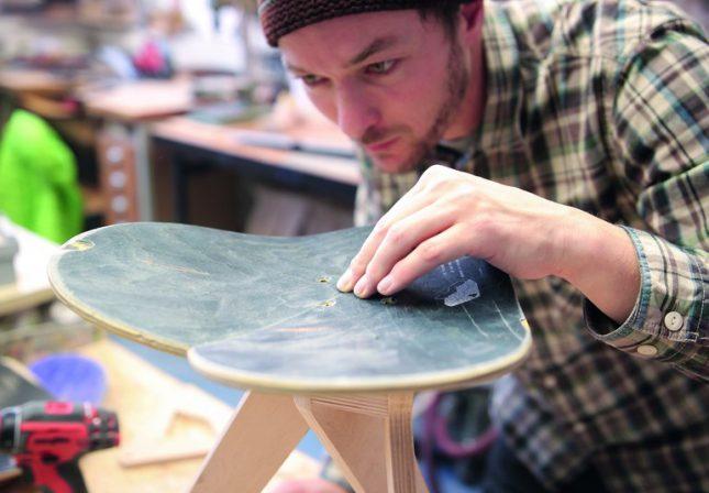 Mister Wilson: Wie Alte Skateboards Zu Möbeln Mit Geschichte Werden. Voll  Vom Hocker   BM Online