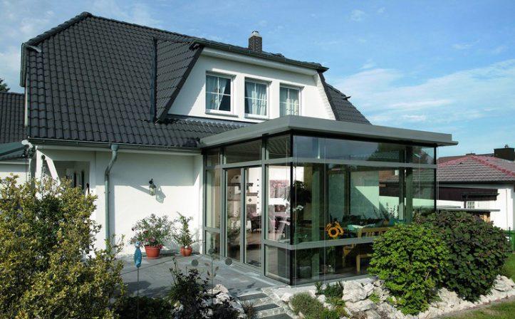 vom modernen glashaus zum sparwintergarten sackgasse. Black Bedroom Furniture Sets. Home Design Ideas