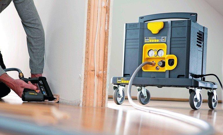 kompressor set von schneider airsystems bm gewinnspiel system mit druck bm online. Black Bedroom Furniture Sets. Home Design Ideas