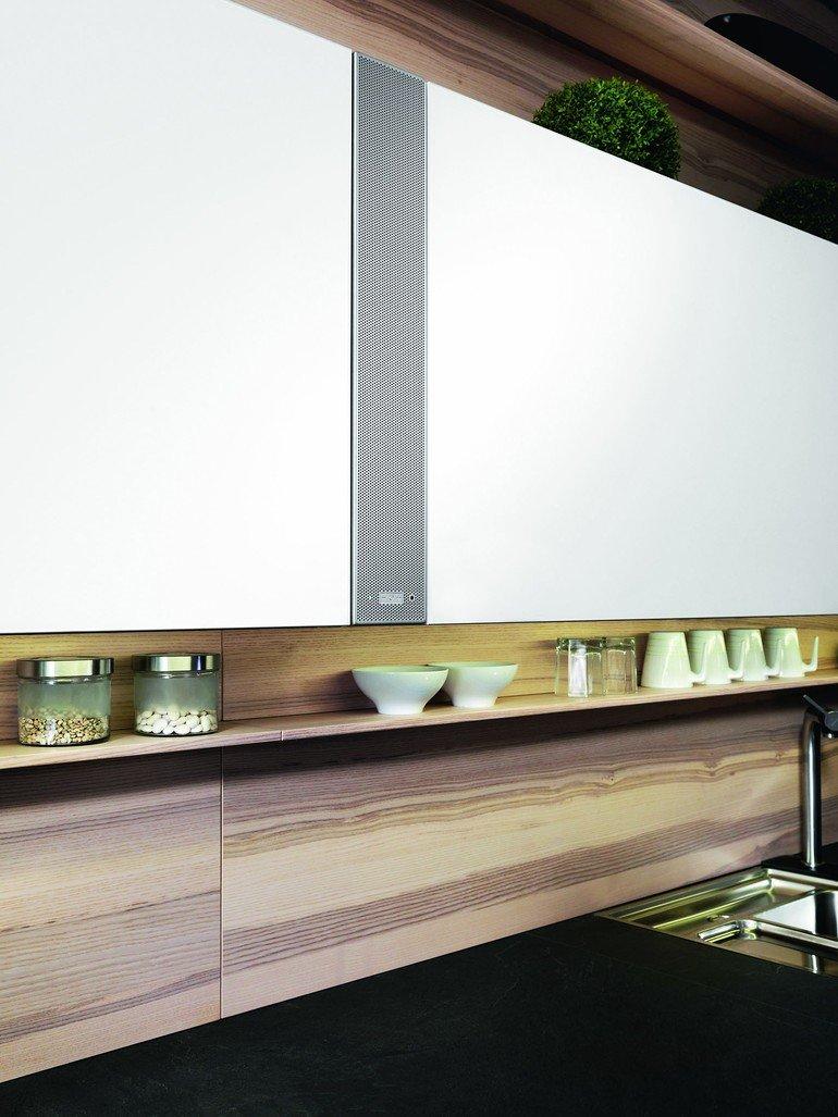 Ewe liefert Soundmodul für Küchenmöbel. Bringt Swing in die Küche ...