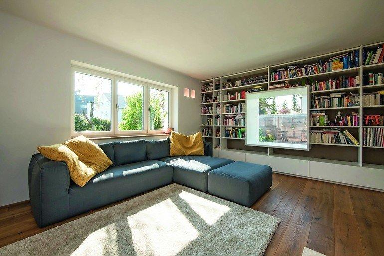 innenausbau eines wohnhauses ausgelagert bm online. Black Bedroom Furniture Sets. Home Design Ideas
