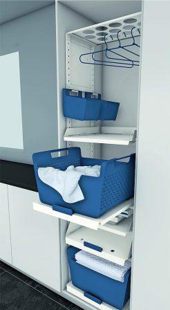 hailo einbautechnik pr sentiert laundry area kompakter. Black Bedroom Furniture Sets. Home Design Ideas