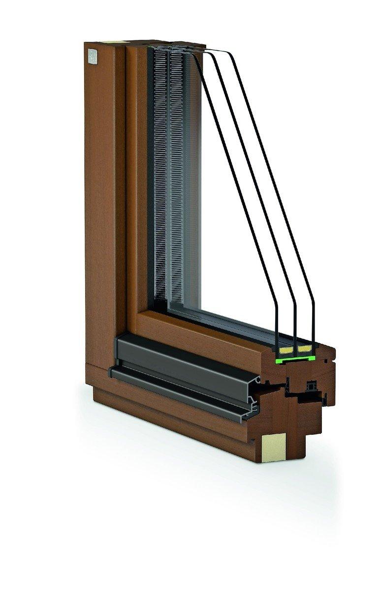 Neue holz und holz alu fenstersysteme von niveau f r for Fenster dreifachverglasung