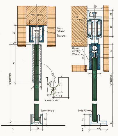 schiebet ren im m bel und innenausbau teil 8 bewegte. Black Bedroom Furniture Sets. Home Design Ideas