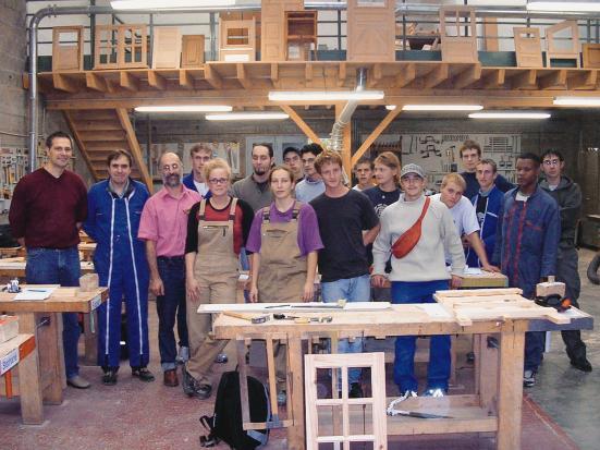 Tischler Dortmund tischler azubis lernen das handwerk im nachbarland kennen bonjour