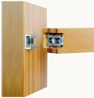 raico erweitert fassadenprogramm holzverbinder f r. Black Bedroom Furniture Sets. Home Design Ideas
