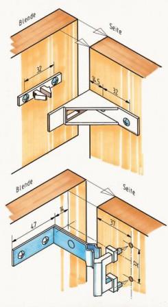 bm-serie, teil 10: blenden- und sockelverbinder. gut eingepackt ... - Sockelverbinder Küche