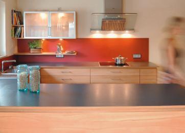 Grundriss Der Küche Mit Anschließendem Essplatz