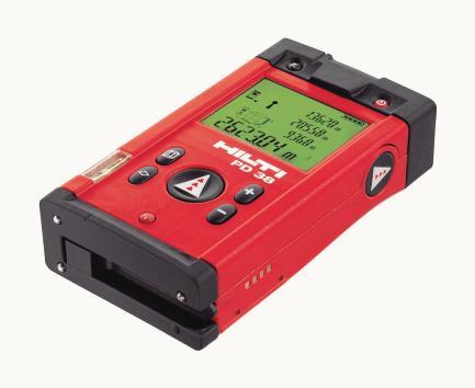 Hilti Pd 10 Laser Entfernungsmesser : Hilti pd 38 im bm test. maßarbeit leicht gemacht online
