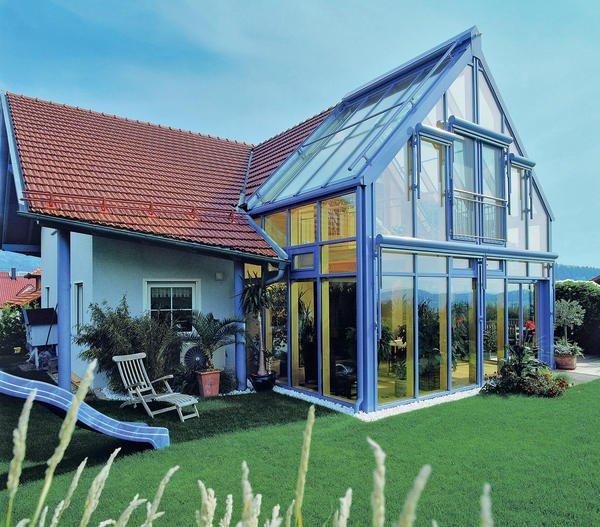Gestalterische Planung Von Häuser Und Anbauten Aus Glas Schöner