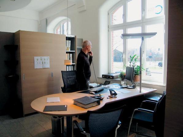 """Classen Design verbindet in der """"ideenwerkstatt"""" großzügige Ausstellungsräume mit Planungsbüros ..."""
