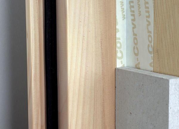 vorgefaltetes klebeband von siga dampfbremsen luftdicht. Black Bedroom Furniture Sets. Home Design Ideas