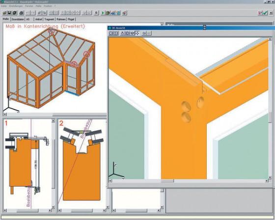 software optimiert wintergartenplanung und herstellung. Black Bedroom Furniture Sets. Home Design Ideas