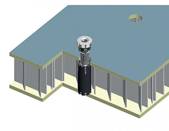Häfele. Neuer Klebedübel für riegellose Leichtbauplatten - BM online