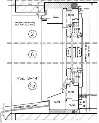 Haustür vertikalschnitt  Holzfensterhersteller unterstützen Architektur-Museum. Gut ...
