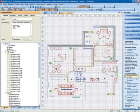 Dialux: Kostenlose Software mit intuitiver Benutzerführung ...