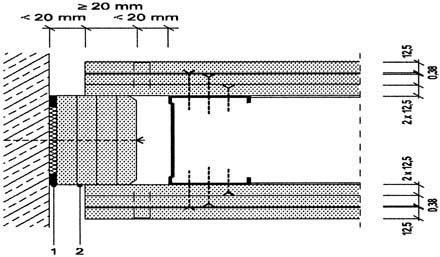 Nichttragende brandw nde hoch stabil sicher bm online - Beton innenwand ...