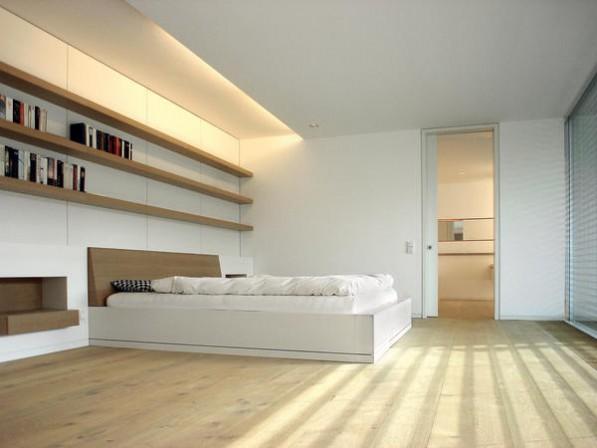 erweiterung eines wohnhauses offenes wohnen in wei bm. Black Bedroom Furniture Sets. Home Design Ideas