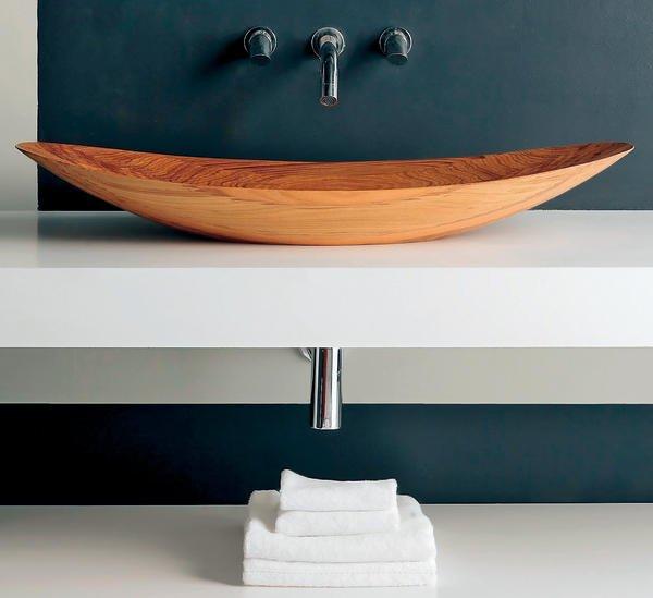 badewannen und waschbecken aus teak wellness mit holz eine ganz besondere erfahrung bm online. Black Bedroom Furniture Sets. Home Design Ideas
