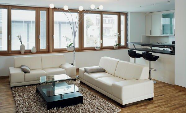 Fenster Band individuelle lösungen mit holz und aluminium perfekte details bm