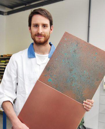 Kupfer Grüne Patina adler bietet varianten für echtmetall beschichtungen patina auf