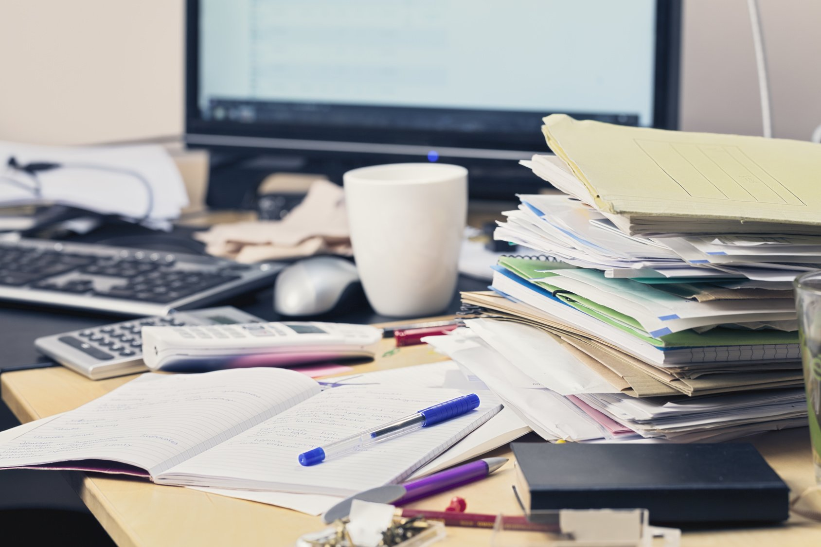 Mehr Ordnung Im Buro So Gestalten Sie Den Arbeitsplatz Effizienter Bm Online