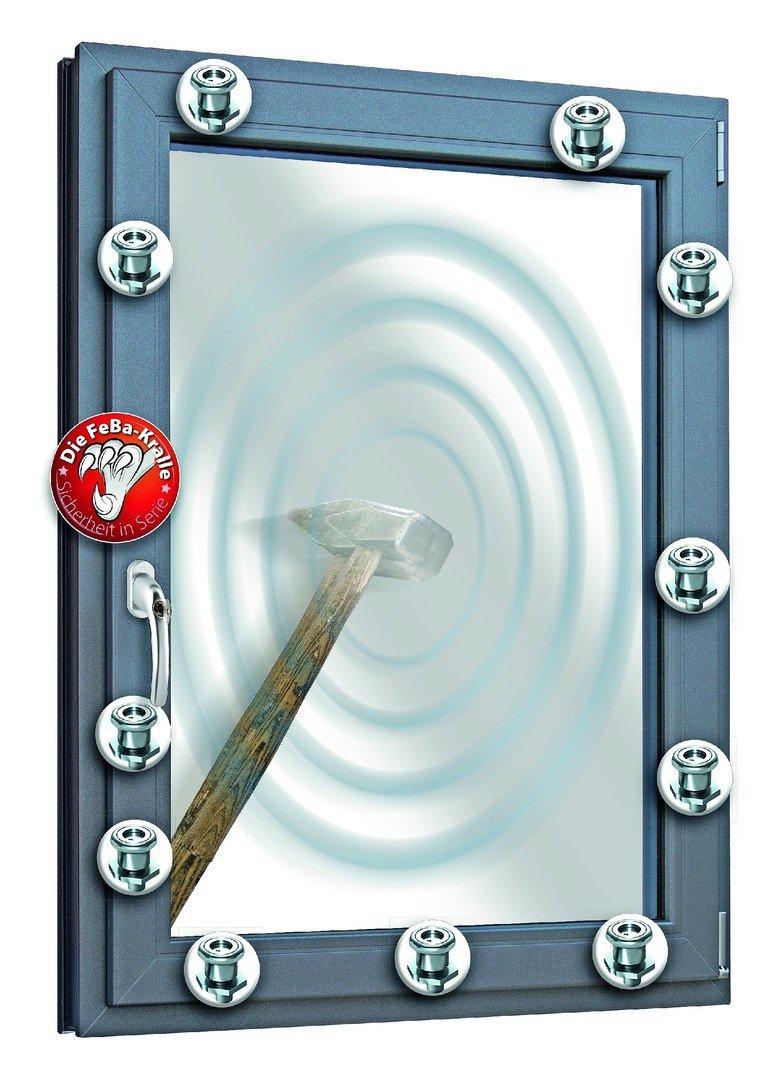feba fensterbau sorgt f r sichere fenster und t ren eine kralle f r mehr sicherheit bm online. Black Bedroom Furniture Sets. Home Design Ideas