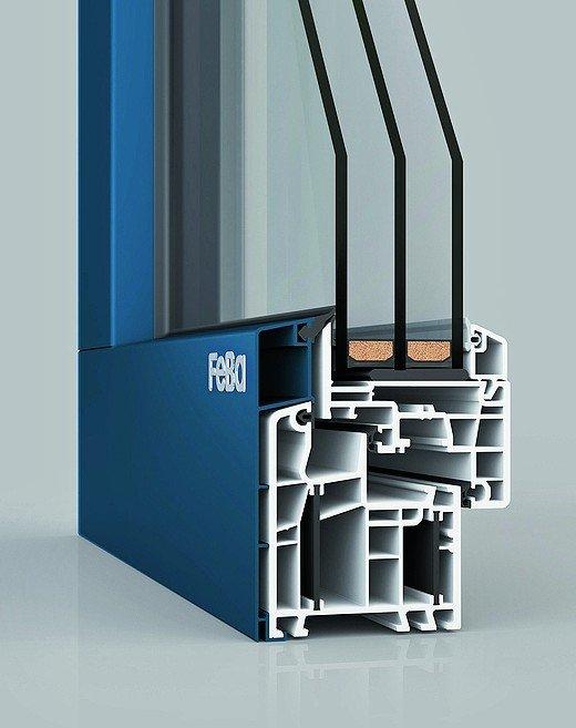 Feba vereint kunststoff mit aluminium mehr durchblick und for Fensterelemente kunststoff
