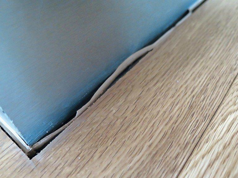 Holzfußboden Fugen Füllen ~ Montagefehler bei der parkettverlegung vermeiden. schwimmend verlegt