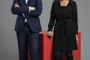 Das neue Führungs-Duo: Dr. Sven Wilhelm und Dagmar Daxenberger. Foto: Ostermann