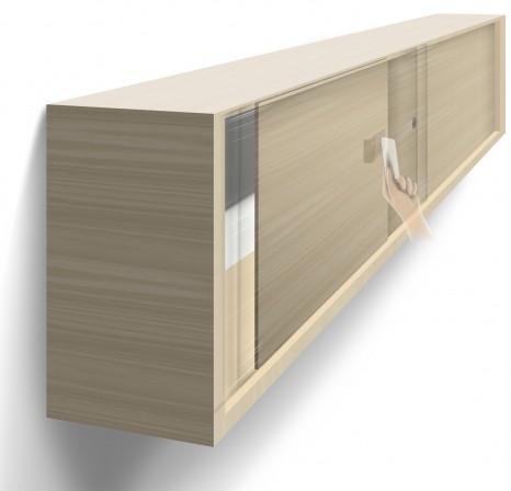 ps pr sentiert elektronisches schloss f r schiebet ren von au en nicht zu sehen bm online. Black Bedroom Furniture Sets. Home Design Ideas