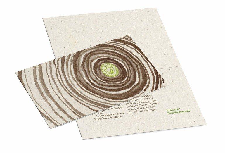 Wwf Weihnachtskarten.Texterin Und Grafikerin Entwickeln Karte Für Holzbaubetriebe Jetzt