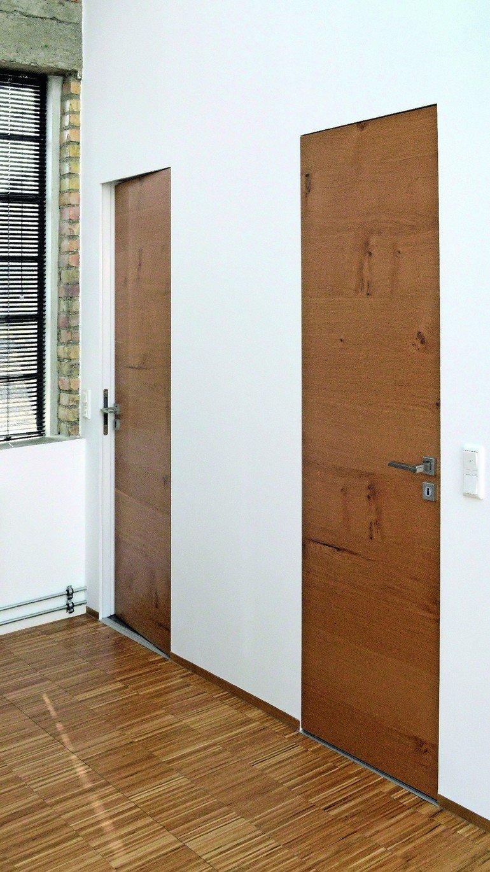 Moderne Türen wingburg präsentiert wandbündige drehflügeltür moderne türen